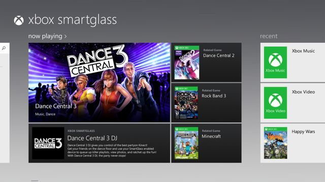 Xbox Music app updated with free streaming, SmartGlass