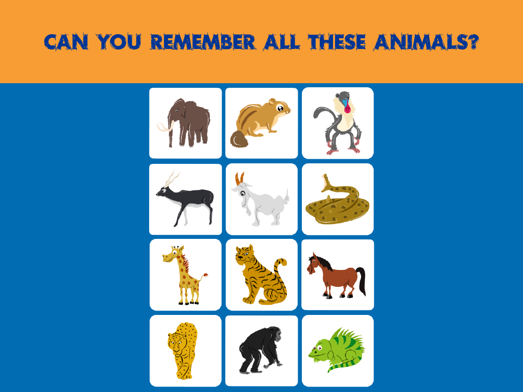 Memory Match for Kids Animals is a memory match game for kids and ...