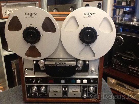 abccbc7f1 kotoučový magnetofon SONY TC-850 - 1 | Vintage