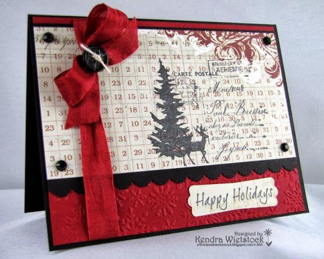 Kendra's Card Company: Happy Holidays My Deer...