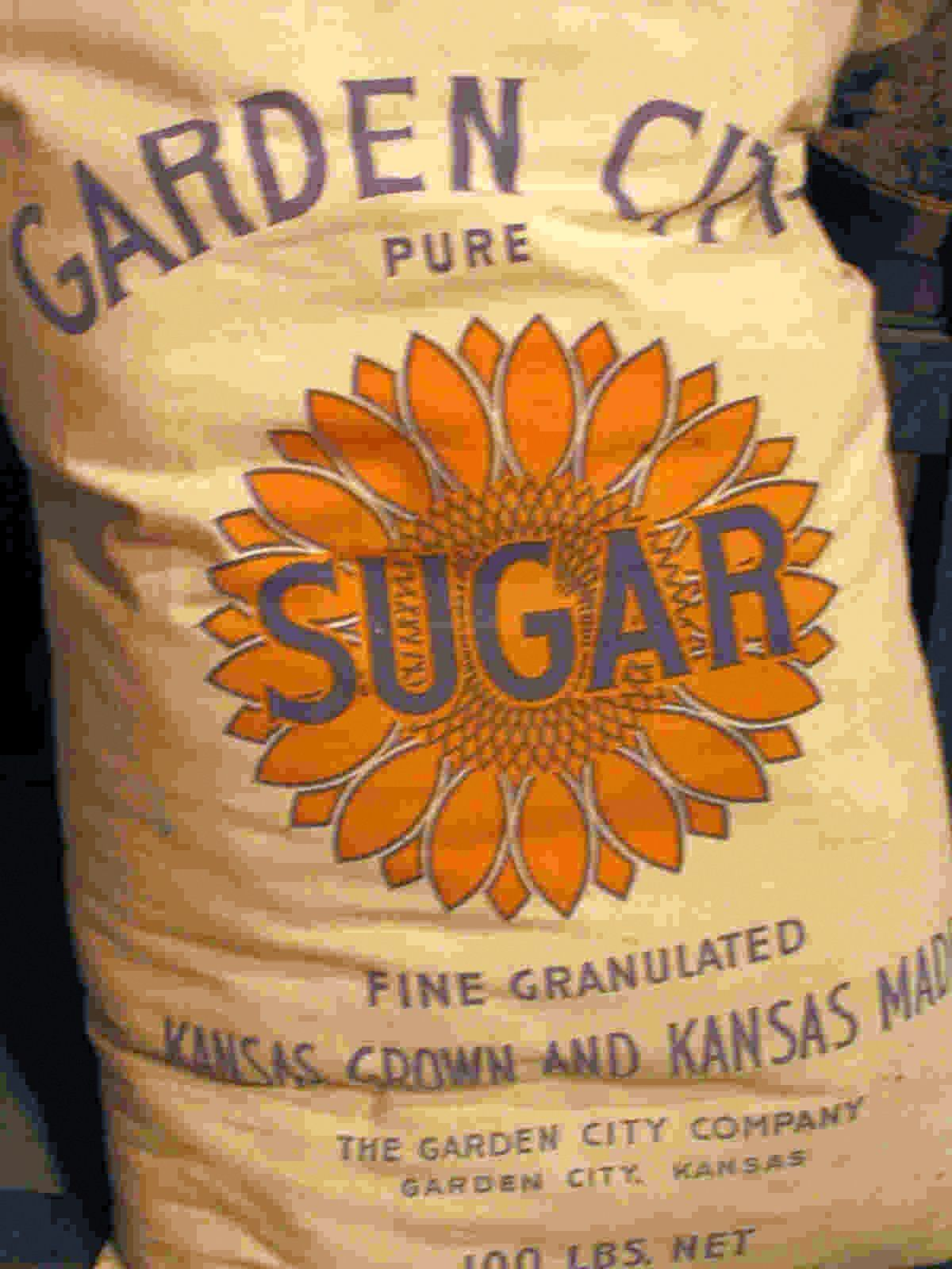 Bag Of Garden City Sugar Pure Products Grandmothers Kitchen Garden City