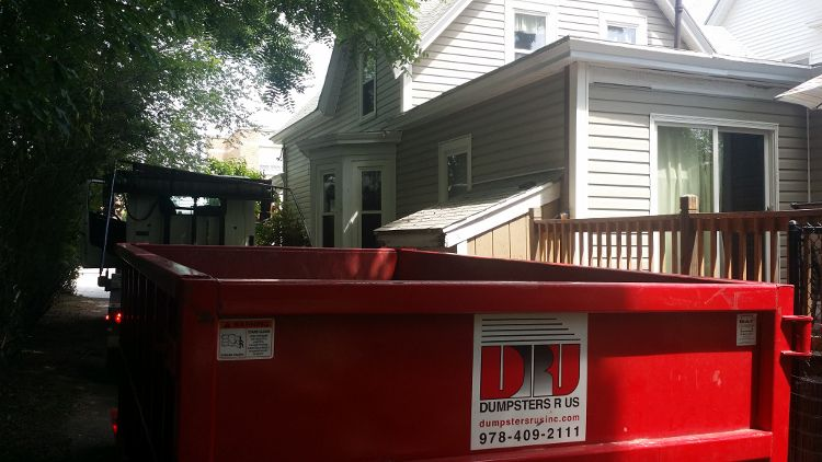 Nashua Nh Homeowner Rented A 10 Yard Open Top Container To Dispose Of Household Items Bed Frames Chairs Etc Nashua Nh 1 Homeowner Nashua Dumpster Rental
