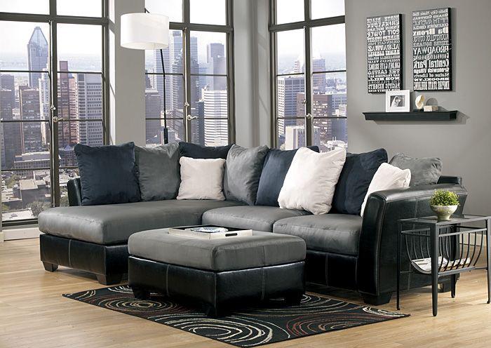 Masoli Cobblestone Chaise End Sectional For $879.99 @ Big Box Furniture,  Miami.