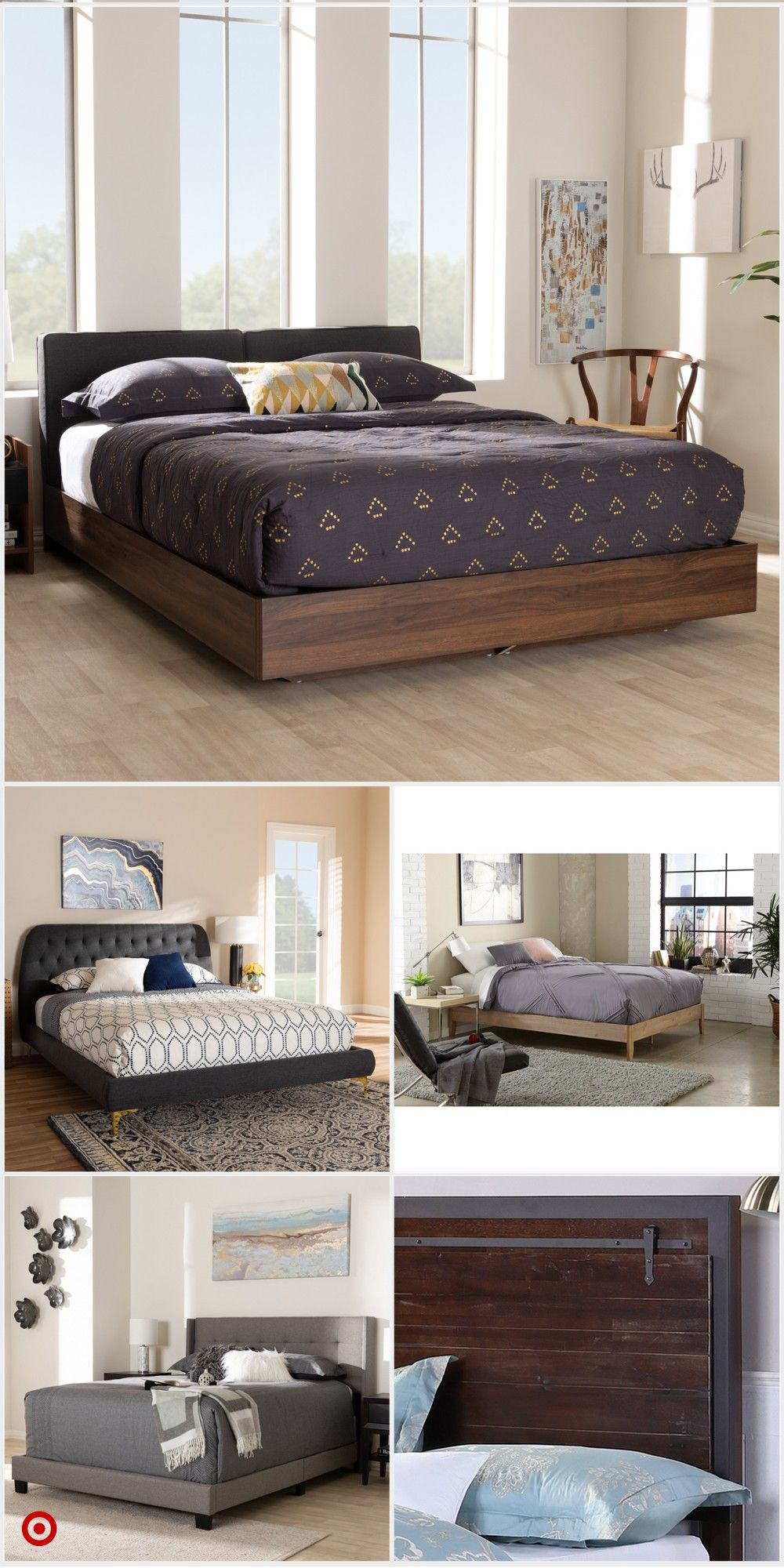 Shop Target For Platform Bed Storage Bed You Will Love At Great Low Prices Free Shipping On Orders Bedroom Bed Design Platform Bed With Storage Bedroom Setup