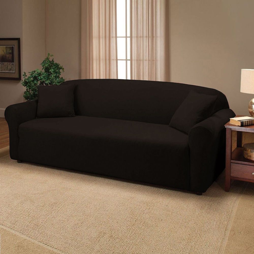 3 Seater Washable Sofa Slip Cover Easy Stretch Fit Settee