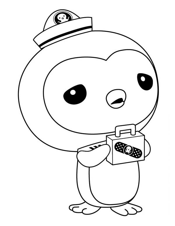 Awesome Peso Penguin From The Octonauts Coloring Page Download Print Online Coloring Pa In 2020 Coloring Pages For Kids Octonauts Characters Cartoon Coloring Pages
