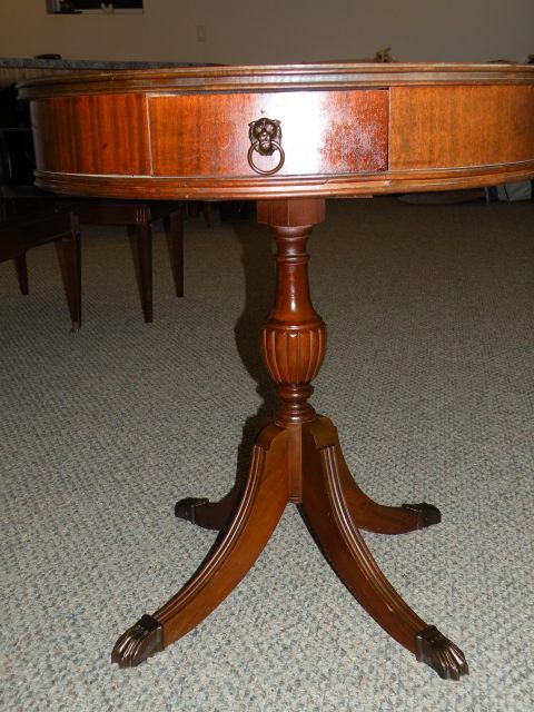 Collectibles General Antiques Id Claw Foot Table Lion