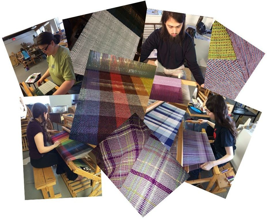 Check out these fabulous weavings from the medieval