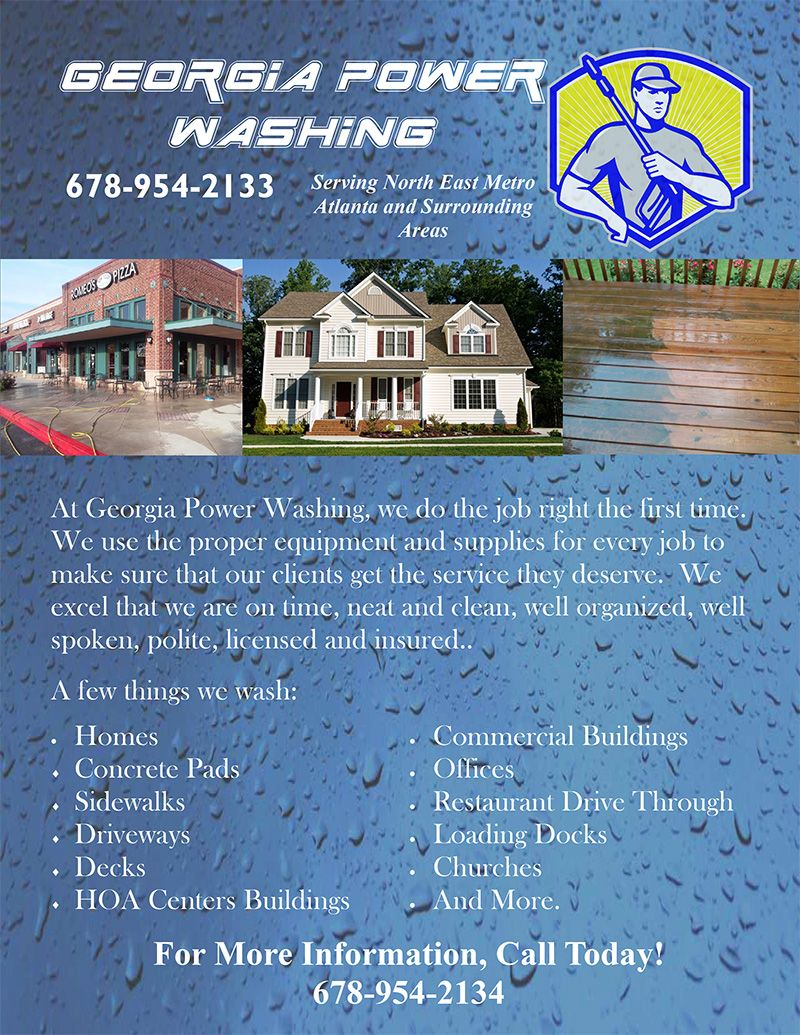 You Too Can Use These Pressure Washing Templates For Flyers Ads