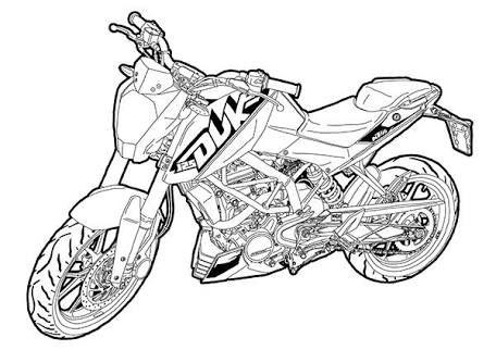 Image Result For Sketch Ktm Duke 200
