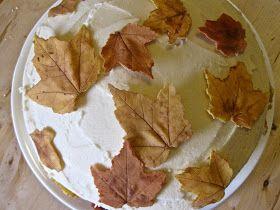 Yammie's Noshery: White Chocolate Leaves