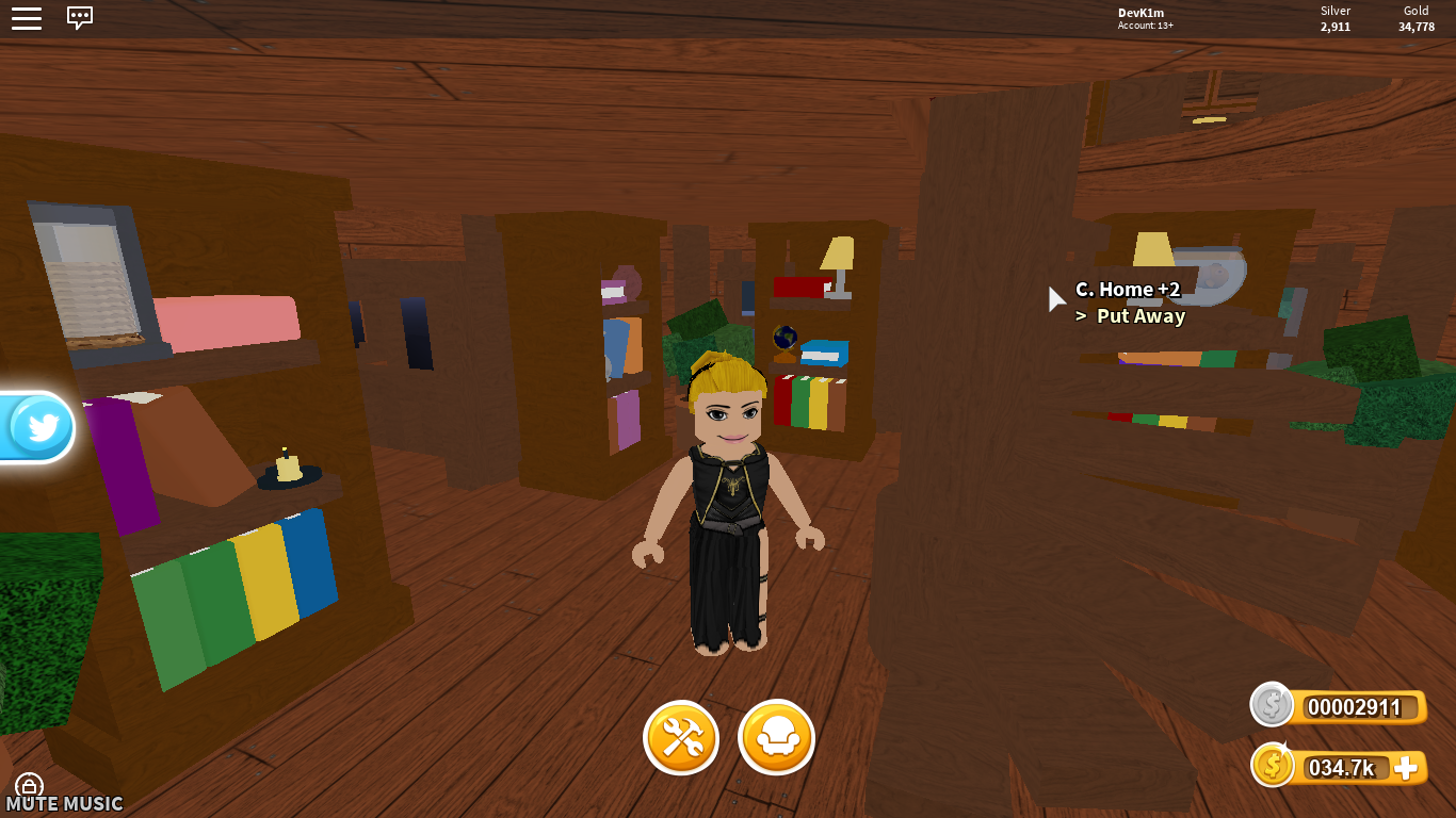 Game Treelands The First Floor Of One Of The Bedrooms Roblox