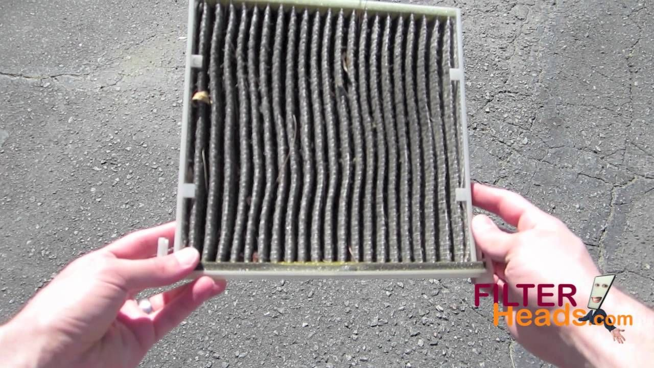 Cabin air filter replacement Lexus RX350 Cabin air