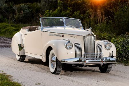 One of 35 built for 1941, a Darrin-designed Packard One Ei | Hemmings Daily
