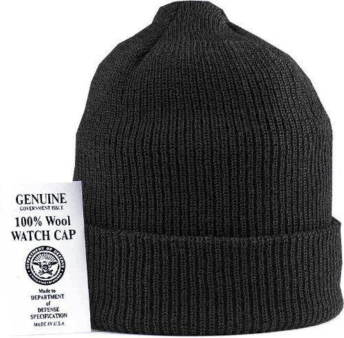 8492 Genuine US Navy Black Wool Watch Cap - $10   Camping & Hiking ...
