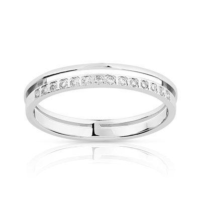 e7d307897d5 ALLIANCE or 375 blanc diamant  MATY  Bijoux - www.maty.com ...