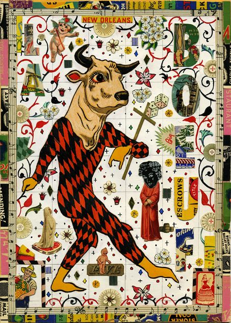 Tony Fitzpatrick.   Does the album covers for Steve Earle and makes some lovely etchings as well.
