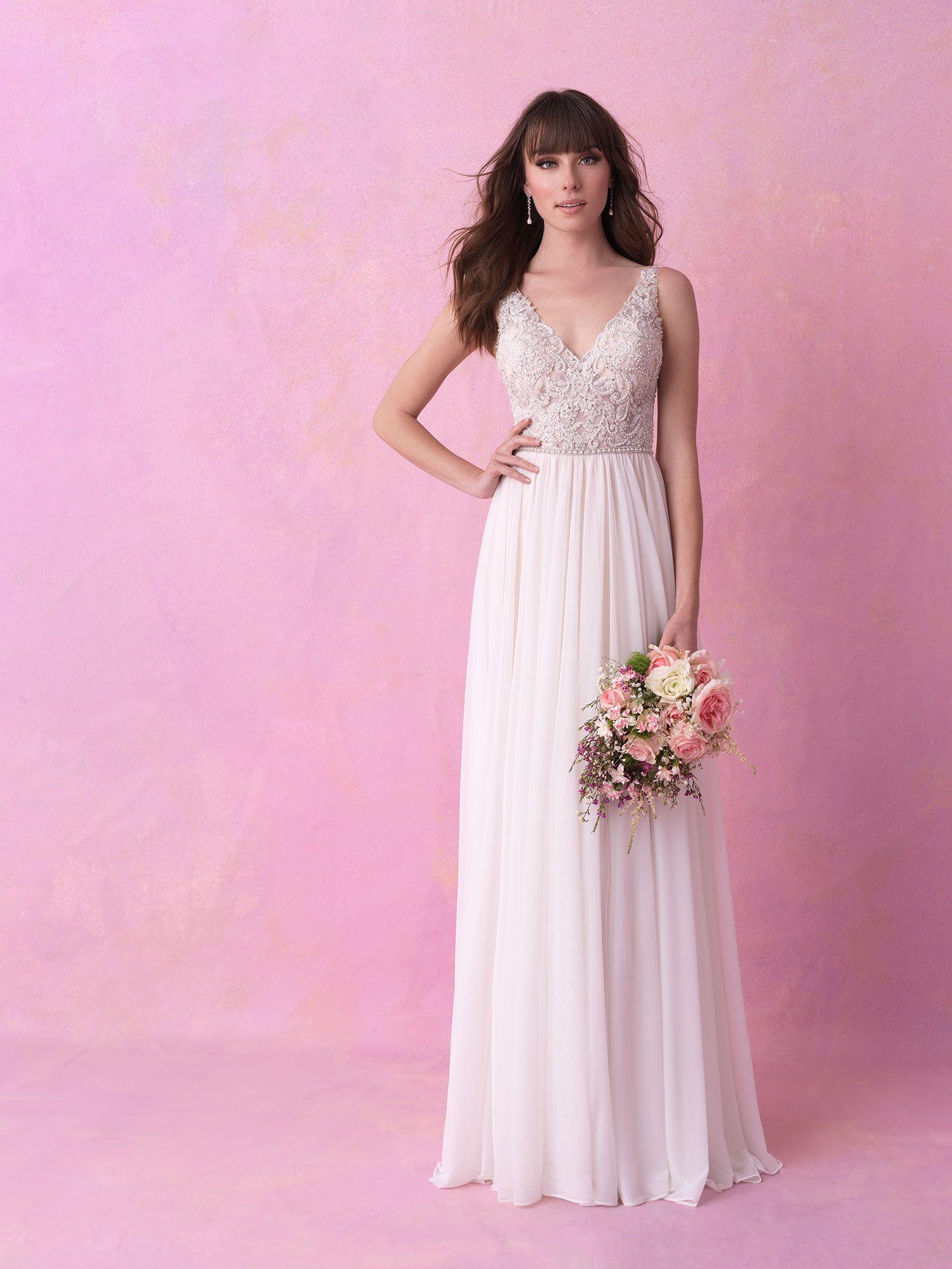AL-3166L | Wedding Dress | Pinterest