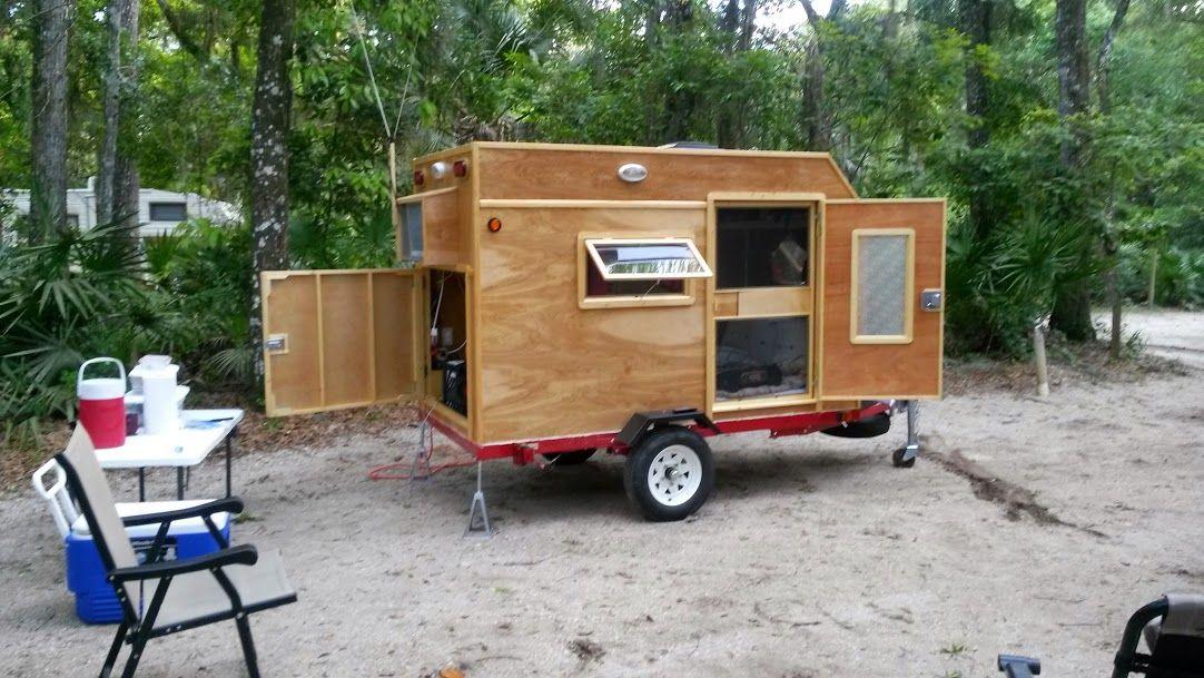 20 New Photos Added To Shared Album Homemade Camper Camper Teardrop Camper Plans
