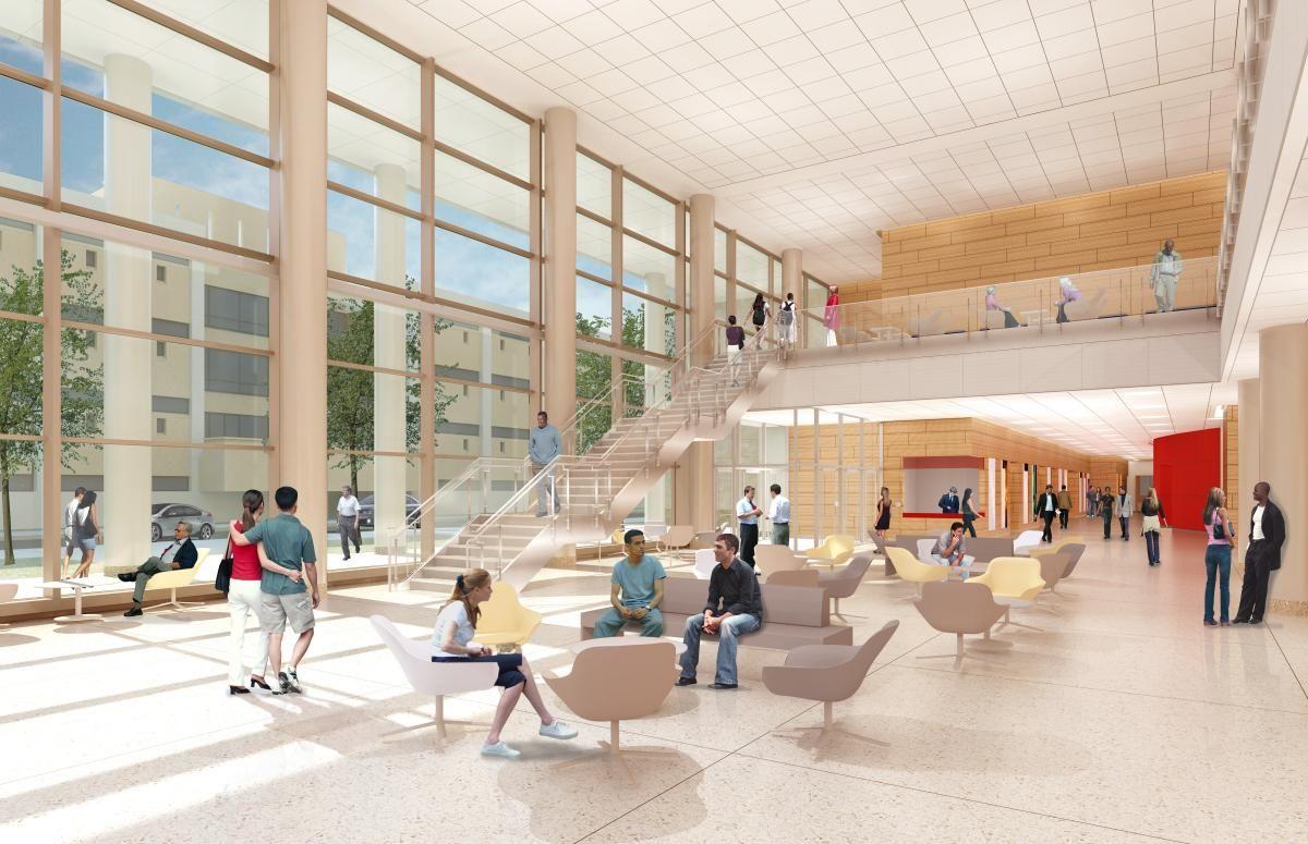 Architecture School Lobby