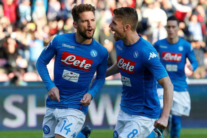 Napoli Reclaim Top Spot In Serie A As Ac Milan Edge Past Lazio Ac Milan Napoli Milan