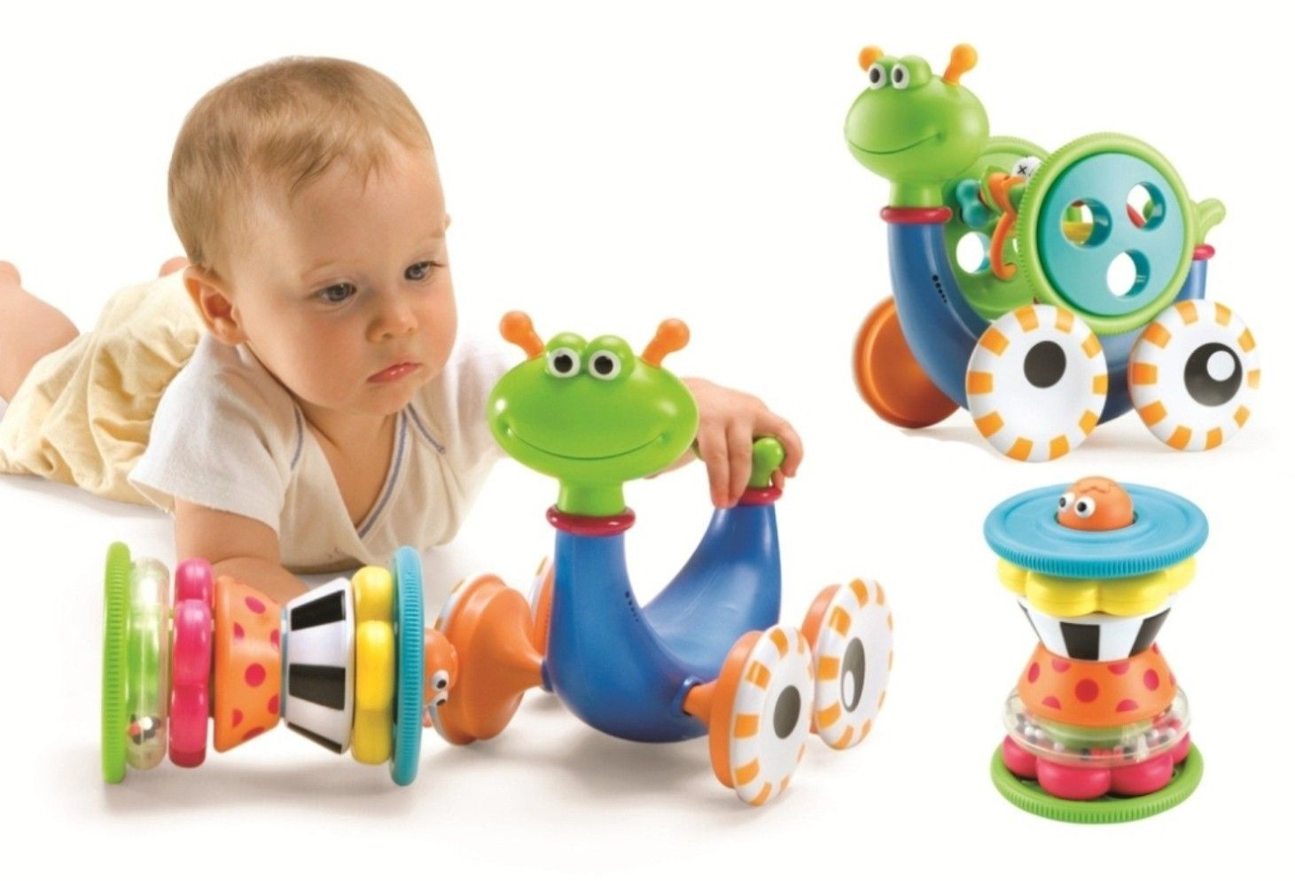 Your baby will be thrilled as it plays with Crawl N' Go