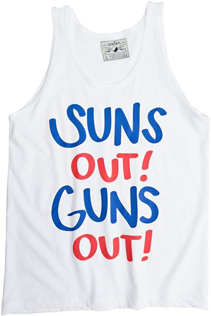 Ha! I want this shirt. I will point people to the GUN SHOW!!!