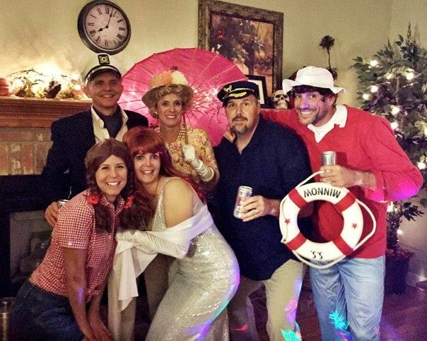53356b59b7510 Gilligan s Island Group Halloween Costumes