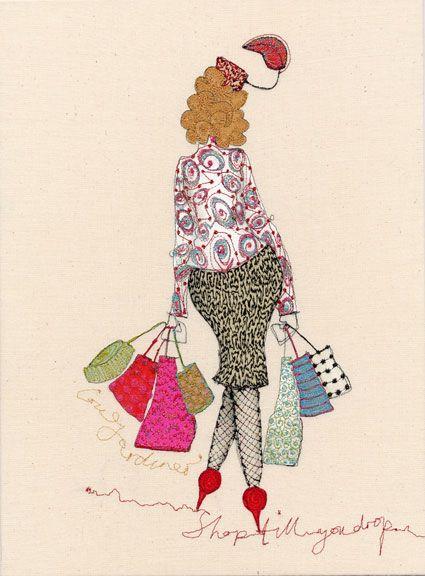 Shop till you drop  Louise Gardiner