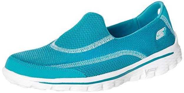 94bc36707abb Skechers Women s Go Walk 2 Athletic Sandals  Amazon.co.uk  Shoes ...