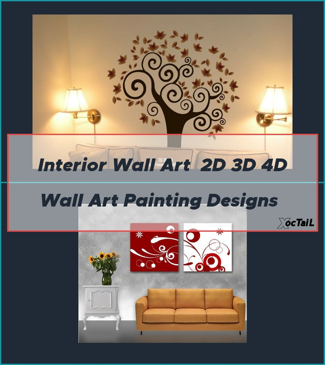 Interior Wall Art 2d 3d 4d Wall Art Painting Designs Wall