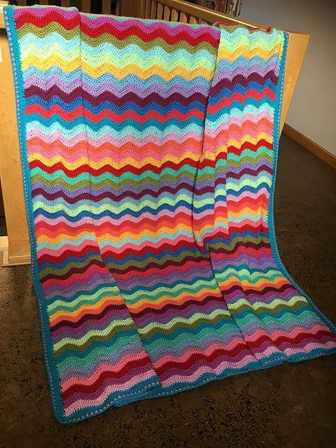 Neat Ripple pattern by Lucy of Attic24 | Crochet - Free Patterns ...
