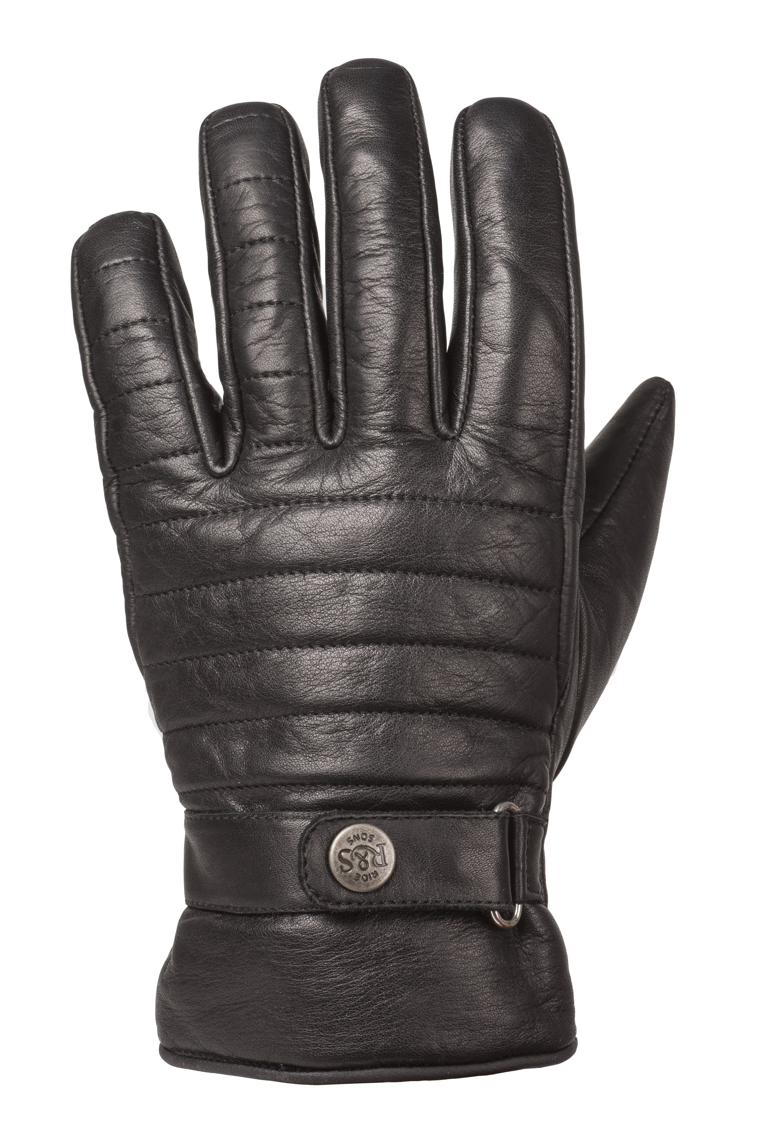 RIDE&SONS Empire Ins. Leather Glove Black