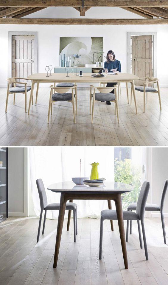 Fesselnd Diesen Geradlinigen Design Tisch Hanami Von Novamobili Gibt Es Einer Holz  Oder Carrara Marmor Tischplatte.