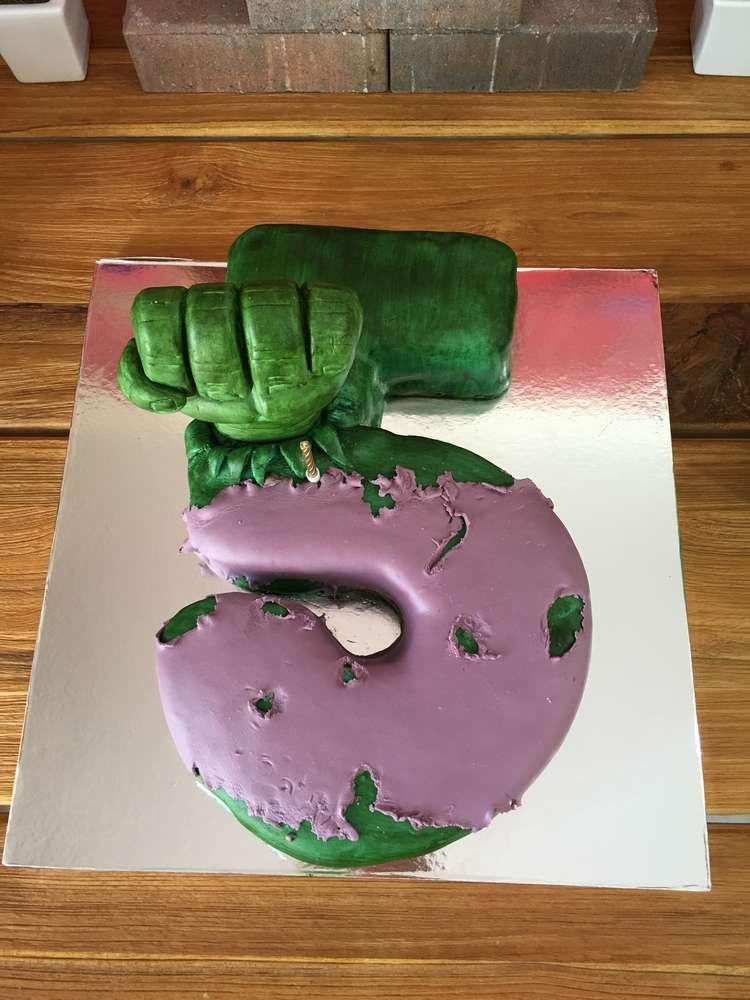 Hulk Birthday Party Ideas Hulk birthday cakes Hulk birthday and