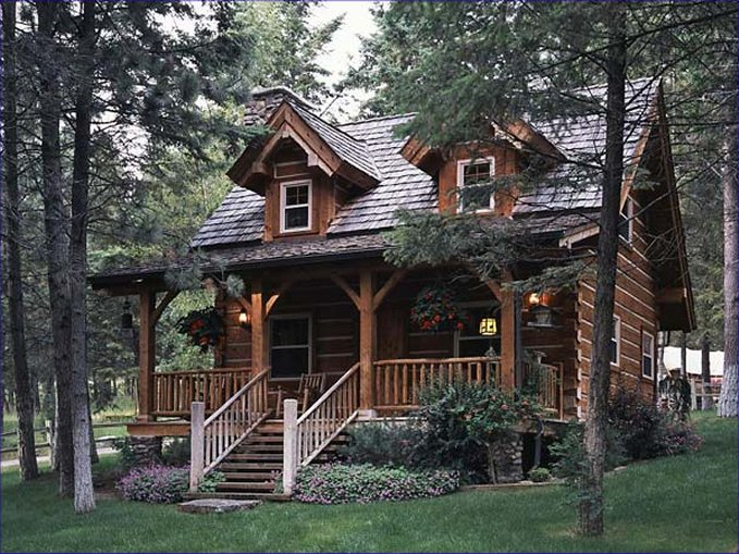 Cozy Log Cabin With Charming Interior - Cozy Homes Life