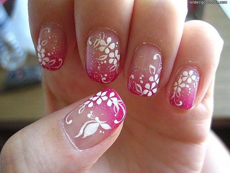 easy nail designs for natural nails   Makeup   Pinterest   Natural ...