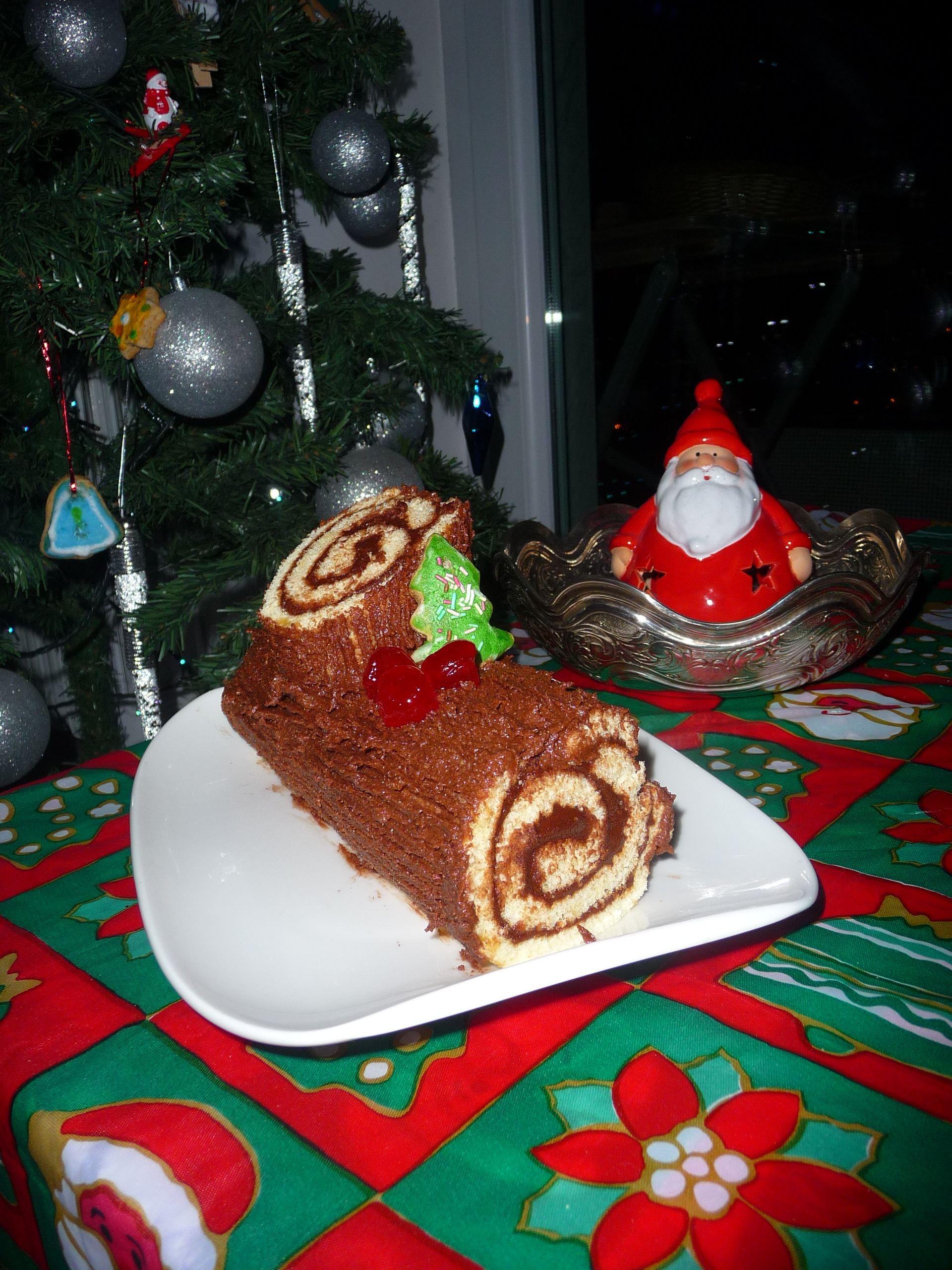 Christmas cake- Tronchetto di Natale