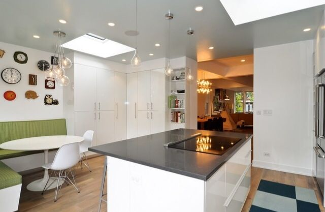 Flor Matts In Kitchen With Clock Collection Staging Wicker Park Chicago Home Staging Home Decor Wicker Park Chicago