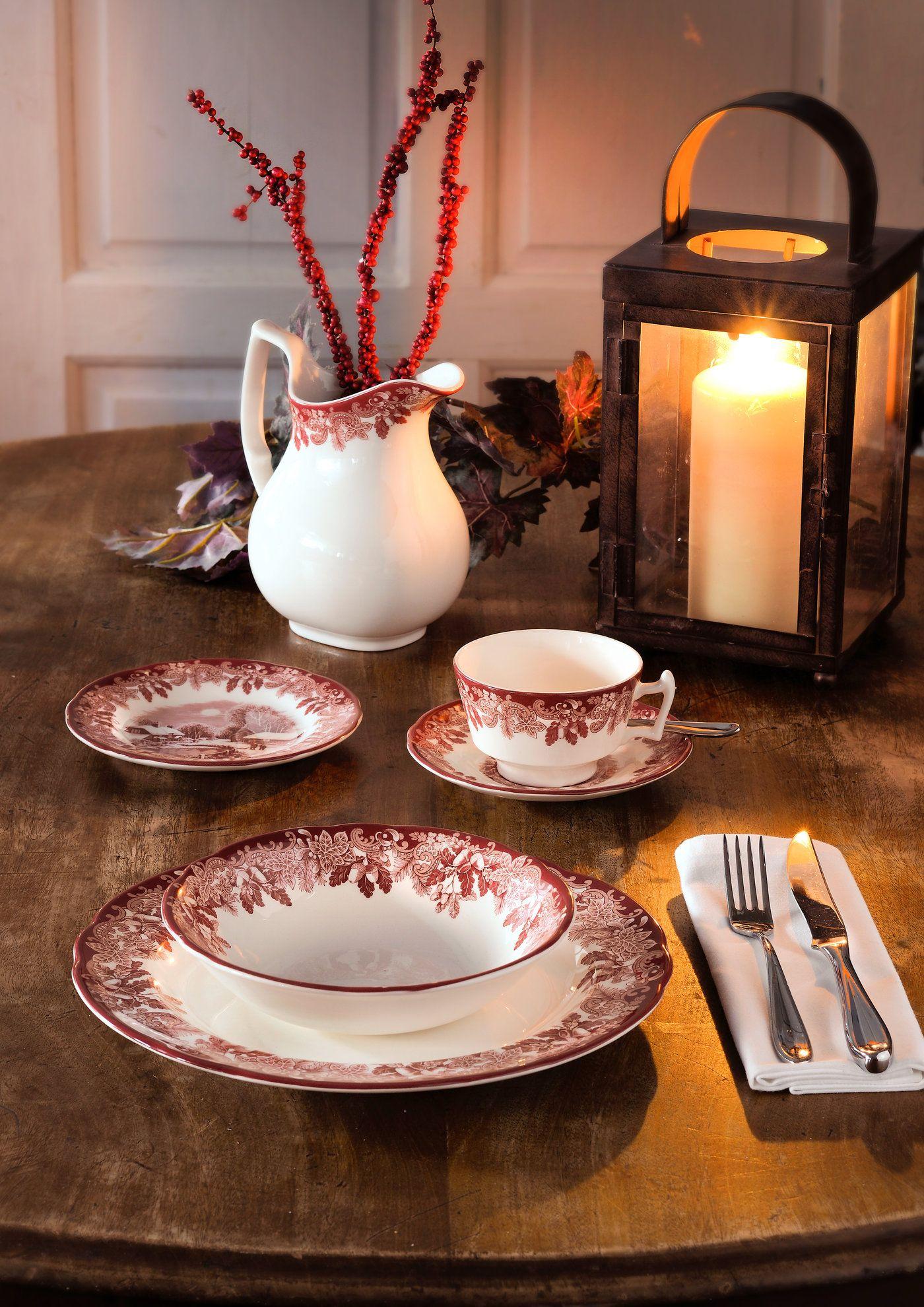 Spode Winter S Scene Cereal Bowl Set Of 4 Tableware Dinner Plates Winter Dishes