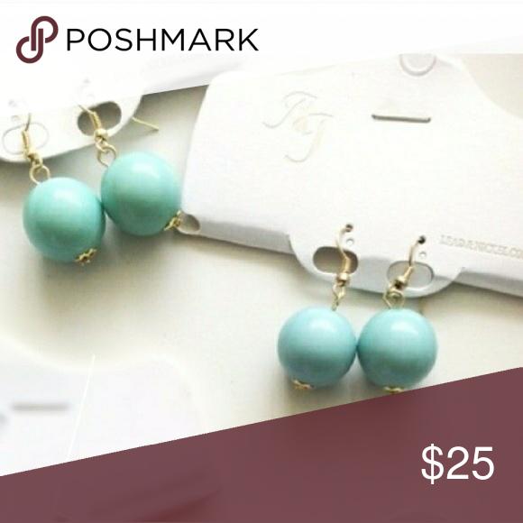 🍭SPECIAL🍭BAUBLE EARRINGS Teal bauble earrings BOUTIQUE Jewelry Earrings