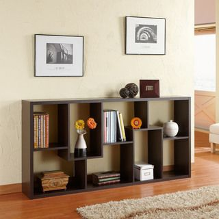 Wood Bookcase Display Cabinet  Overstock  Furniture Magnificent Modern Dining Room Display Cabinets Inspiration Design