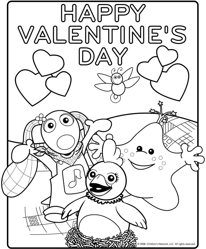 Valentine\'s Day Color Sheets | Valentine\'s Day Coloring Pages ...