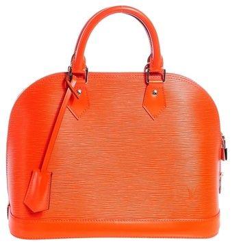 a942ac41b343 Louis Vuitton Epi Alma Pm Handbag Piment Orange Bag - Satchel. Save 33% on