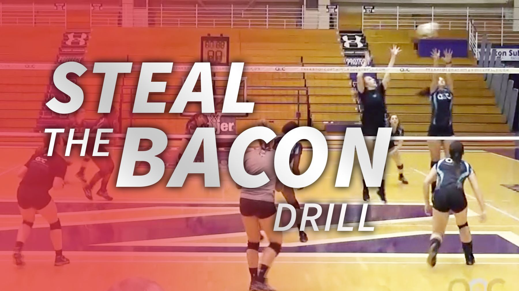 Steal The Bacon Drill With Cathy George The Art Of Coaching Volleyball Coaching Volleyball Volleyball Skills Youth Volleyball