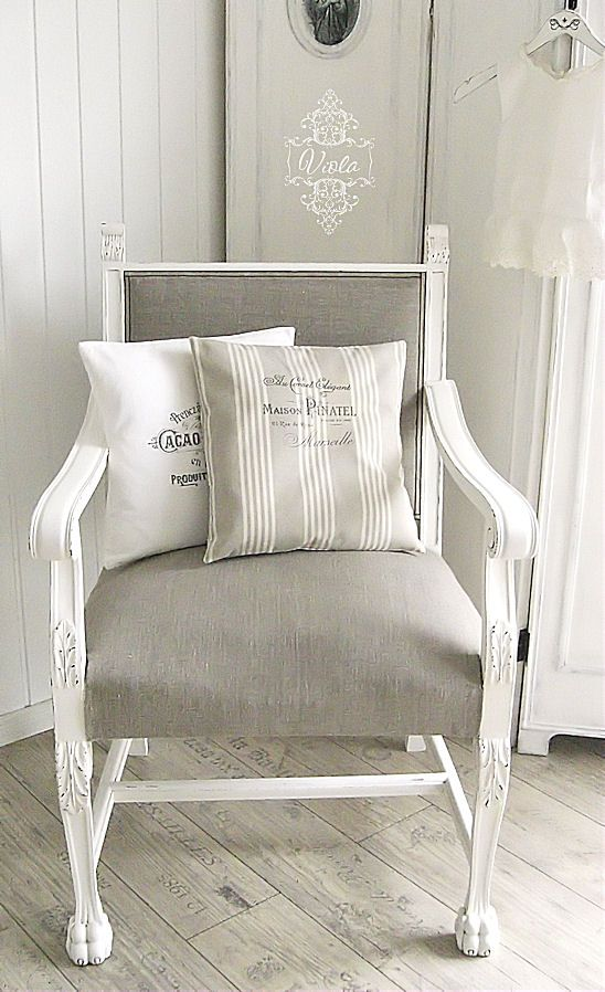 vintage shabby chic inspired office. Shabby Chic Inspired: Chair - Before And After Vintage Inspired Office R