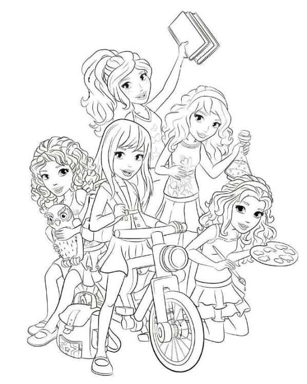 Lego Friends Coloring Pages Căutare Google Kolorowanki Dibujos