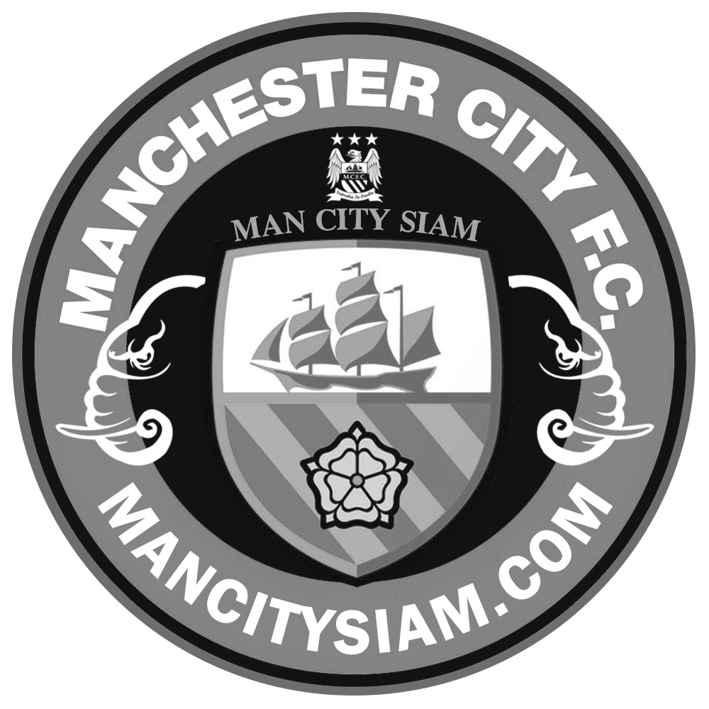 Manchester City Logo Black And White