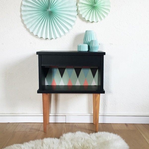 les 25 meilleures id es concernant chevet noir sur. Black Bedroom Furniture Sets. Home Design Ideas