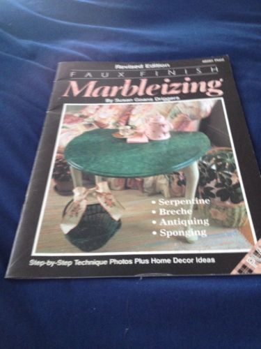 faux finish marbleizing softcover
